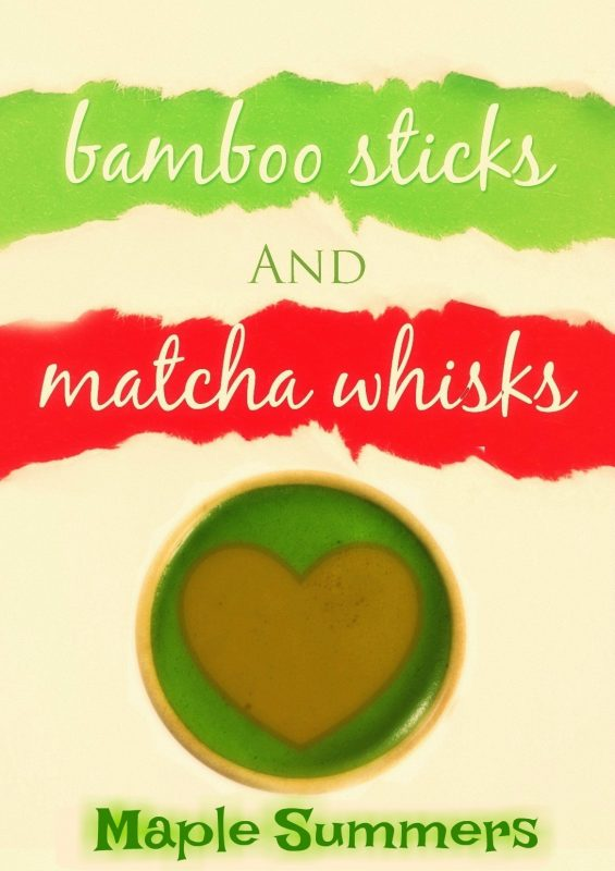 Bamboo Sticks and Matcha Whisks